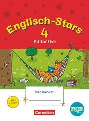 Englisch-Stars (BOOKii-Ausgabe): Englisch-Stars - BOOKii-Ausgabe - 4. Schuljahr; Band 51