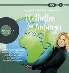Weltretten für Anfänger, MP3-CD