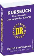Kursbuch der Deutschen Reichsbahn 1986/1987