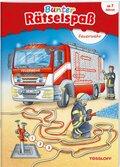 Bunter Rätselspaß: Feuerwehr