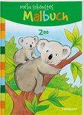 Mein schönstes Malbuch: Zoo