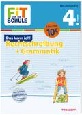 Fit für die Schule: Das kann ich! Rechtschreibung + Grammatik 4. Klasse