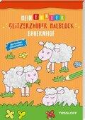 Mein bunter Glitzerzauber Malblock: Bauernhof