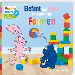Elefant und Hase entdecken die Formen