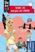 Die drei !!!, Tatort, Tee und ganz viel London