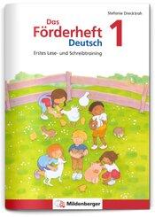Das Förderheft Deutsch 1