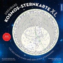 Drehbare Kosmos-Sternkarte XL