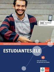 Estudiantes.ELE B2 - Kurs- und Übungsbuch mit Audios