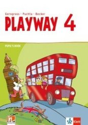 Playway, ab Klasse 3. Ausgabe BW, NI, SH, HB, HE, BE, BB, MV, ST, TH ab 2020: 4. Klasse, Pupil's Book