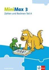 MiniMax. Allgemeine Ausgabe ab 2019: 3. Schuljahr, Zahlen und Rechnen A (Ausleihmaterial)