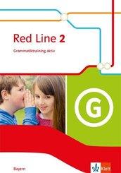 Red Line. Ausgabe für Bayern ab 2017: 6. Klasse, Grammatiktraining aktiv!