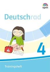 Deutschrad. Ausgabe ab 2018: 4. Klasse, Trainingsheft