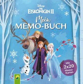Die Eiskönigin 2 -  Mein Memo-Buch