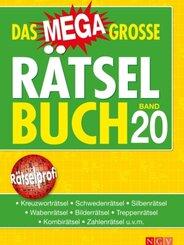 Das megagroße Rätselbuch - Bd.20