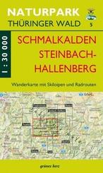 Wanderkarte Schmalkalden und Steinbach-Hallenberg