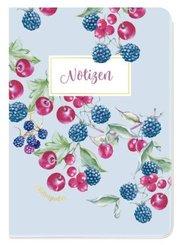 Notizheft Blütenzauber Beeren
