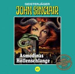 John Sinclair Tonstudio Braun - Asmodinas Höllenschlange, Audio-CD