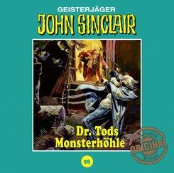 John Sinclair Tonstudio Braun - Dr. Tods Monsterhöhle, Audio-CD