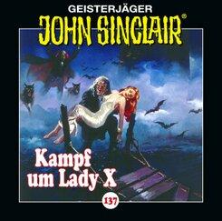 John Sinclair - Kampf um Lady X, Audio-CD