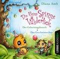 Die kleine Spinne Widerlich - 2 Geschichten - Der Geburtstagsbesuch & Das Geschwisterchen, Audio-CD