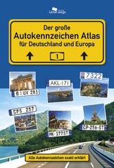 AUTOKENNZEICHEN ATLAS Deutschland und Europa