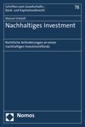 Nachhaltiges Investment