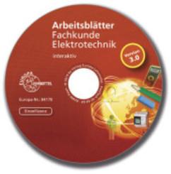 Arbeitsblätter Fachkunde Elektrotechnik - interaktiv, CD-ROM