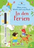 Nina und Jan - Mein erstes Wisch-und-weg-Buch: In den Ferien