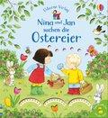 Nina und Jan suchen die Ostereier