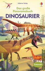 Das große Panoramabuch: Dinosaurier