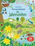 Mein erstes Stickerbuch: Die Jahreszeiten