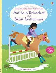 Mein Anziehpuppen-Stickerbuch: Auf dem Reiterhof und Beim Reitturnier