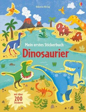 Mein erstes Stickerbuch: Dinosaurier