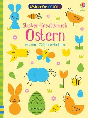 Usborne Minis - Sticker-Kreativbuch: Ostern