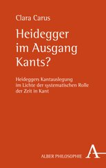 Heidegger im Ausgang Kants?