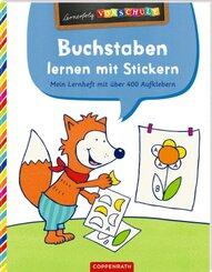 Buchstaben lernen mit Stickern