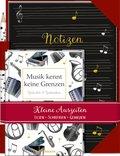 Musik kennt keine Grenzen - Gedichte & Gedanken, m. Notizheft und Bleistift