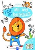 Leo Löwe & seine Freunde - Pop-Up Mal- und Bastelbuch