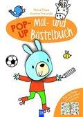 Hans Hase & seine Freunde - Pop-Up Mal- und Bastelbuch