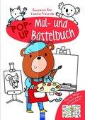 Benjamin Bär & seine Freunde - Pop-Up Mal- und Bastelbuch