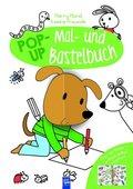 Harry Hund & seine Freunde - Pop-Up Mal- und Bastelbuch