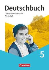 Deutschbuch, Differenzierende Ausgabe ab 2020: Deutschbuch - Sprach- und Lesebuch - Differenzierende Ausgabe 2020 - 5. Schuljahr