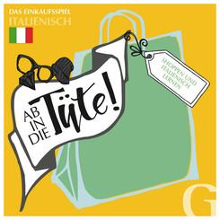 Ab in die Tüte! Shoppen und Italienisch lernen (Spiel)