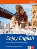 Let's Enjoy English: Student's Book, w. Audio-CD, MP3 and DVD; B1.2