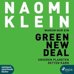 Warum nur ein Green New Deal unseren Planeten retten kann, 2 Audio-CD, MP3