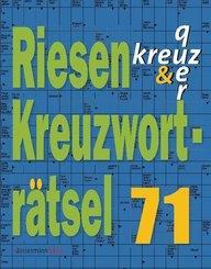 Riesen-Kreuzworträtsel - .71