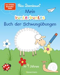 Mein kunterbuntes Buch der Schwungübungen. Spielerische Schreibvorbereitung für Kindergarten, Vorschule und Grundschule.