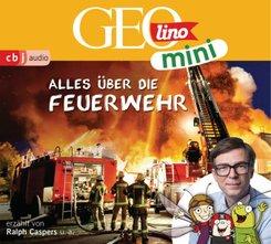 GEOLINO MINI: Alles über die Feuerwehr (1), 1 Audio-CD