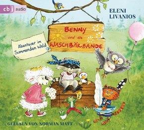 Benny und die Waschbärbande, 1 Audio-CD