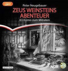 Zeus Weinsteins Abenteuer, 3 Audio-CD, MP3